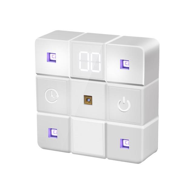 NEW Portable Mini Germicidal Cube Lamp UV Light Sterilizer